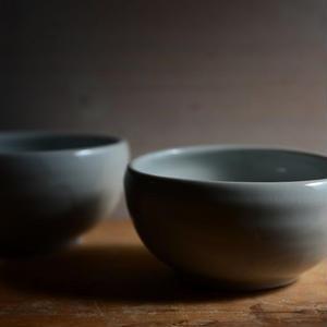 壷田亜矢さん  白磁 鉢