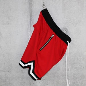 ■EssentialBasketShorts■Red■