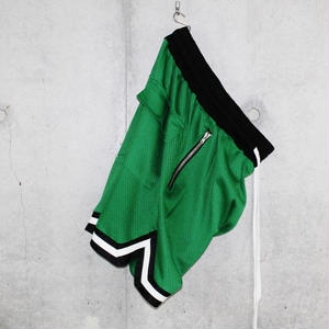 ■EssentialBasketShorts■Green■