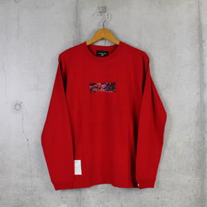 LongSleeveT■WORMBOX■RED■