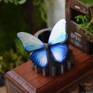 蝶のマグネット メネラウスモルフォ Glacier  Ssize