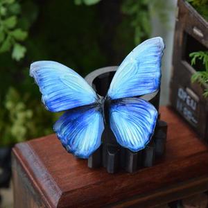 蝶のマグネット メネラウスモルフォ Aqua Msize