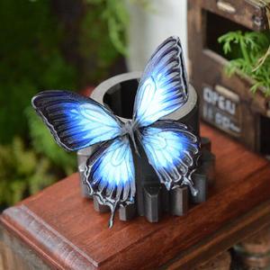 蝶のマグネットオオルリアゲハ blue Msize