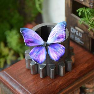 蝶のマグネット メネラウスモルフォ lavender 2Ssize