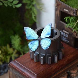 蝶のマグネット メネラウスモルフォ Emarald 2Ssize