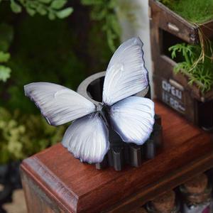 蝶のマグネット メネラウスモルフォ White Msize
