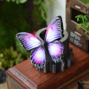 蝶のマグネットオオルリアゲハ ピンクパープル Msize