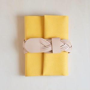 えらべるベルトの手帖カバー / mimoza giallo