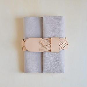 ベルトの手帖カバー / argilla (gray)