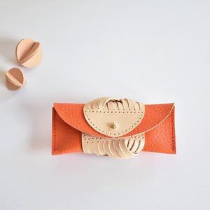 ARAN ちいさなケース(orange)