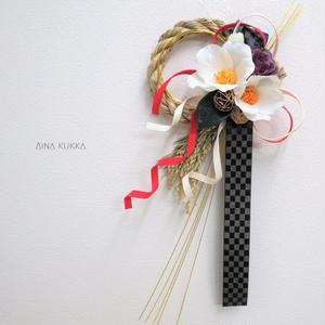 ◇SEASON◇白椿の正月飾り