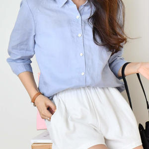 daily linen shirt(6color)