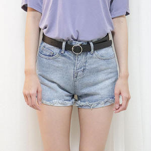 belt denim pant(light/dark)