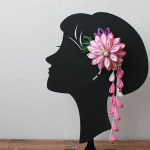 7歳髪飾り/ピンク(H10)