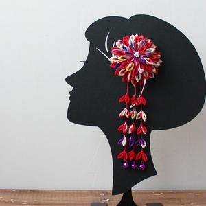 7歳髪飾り/カラフル(H5)