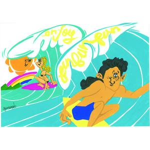 Postcard SurfSurf