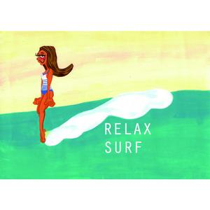 Postcard Relax Surf St