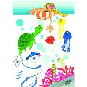 Postcard Sea Sea