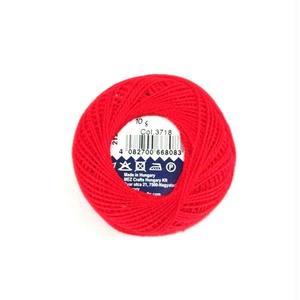 ハンガリー刺繍糸【3718】赤