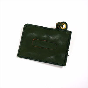 ANNAK ウォッシュパスケース グリーン AK14TA-D0015