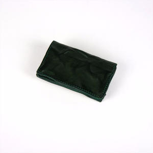 ANNAK ウォッシュカードケース グリーン AK14TA-D0014