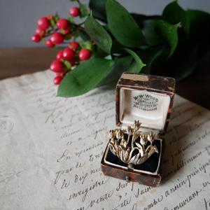 フランスアンティークブローチ Tulip 花束
