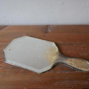 フランスアンティーク 手持ち鏡 ミラー