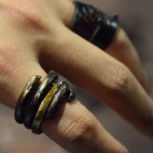 """ウィザリング コンビネーションブラスリング#2 """"withering combination brass ring#2"""""""