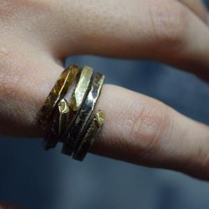 """ウィザリング  コンビネーションブラスリング """"withering  combination brass ring"""""""