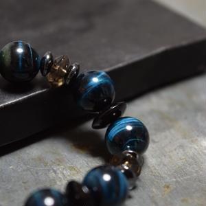 タイガーアイ シングル ブレス〈ヴィリジアン〉TIGEREYE single bracelet(VIRIDIAN)