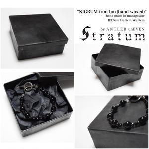 ニグルム アイアン ボックス ハンド ワックスド ''NIGRUM iron box(hand waxed)''