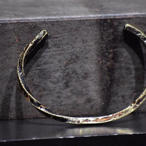 """ウィザリング ツイステッド ブラスバングル#2""""withering twisted brass bangle #2"""""""
