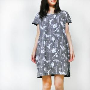 """ワンピース メンフクロウ """"Barn owl"""" one-piece dress"""