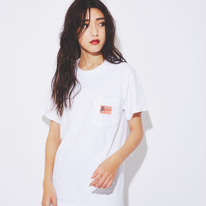 German match label pocket T-shirts (Red)(予約11/30まで受付 - 12月中発送)