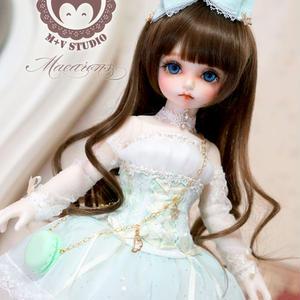 MDD洋服 ミニドルフィードリーム マカロンドレス(グリーン)