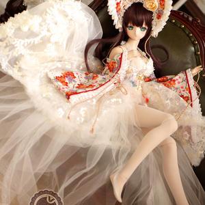 限定 DD,1/3 ドルフィードリーム服 古装 和服ドレスセット