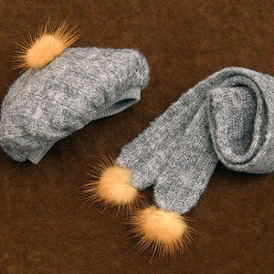 DD,DDS,DDDY,SD ドールサイズ 防寒 ドルフィードリーム 帽子、マフラー