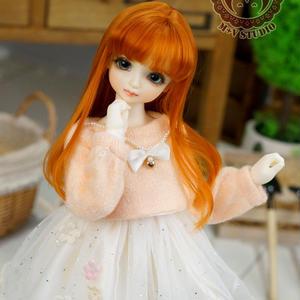 MDD MSD お洋服 ミニドルフィードリーム ワンピースセット(オレンジ)