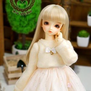 MDD MSD お洋服 ミニドルフィードリーム ワンピースセット(ホワイト)