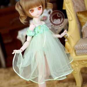 MDD ドール Dollfie Dream ネグりジェワンピース(グリーン)