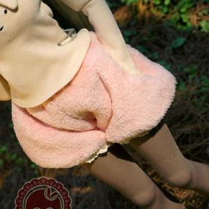 DD,SDGR ドルフィードリーム洋服 モコモコ かぼちゃのパンツ