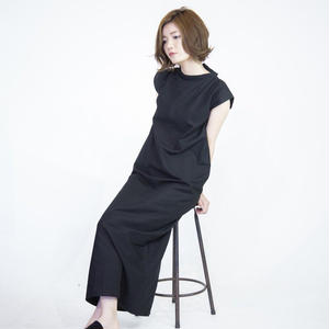 china one-piece [black]