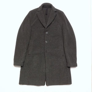 HARRIS WHARF LONDON man boxy coat polaire