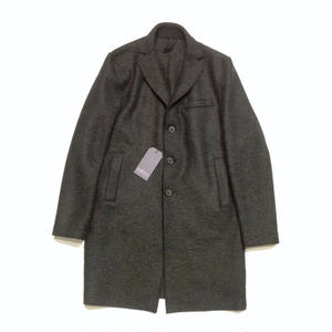 HARRIS WHARF LONDON man boxy coat pressed wool
