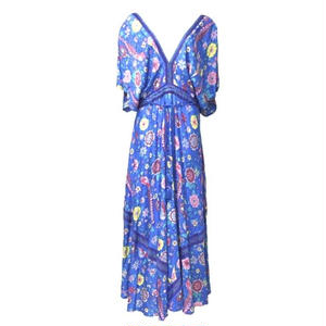 Bohemian Long One-piece (Blue)