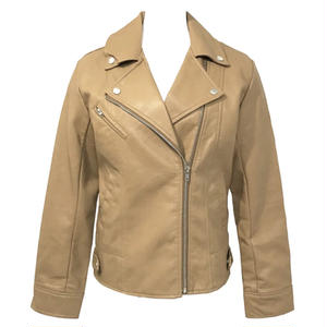 Double Riders Leather Jacket (Ginger)