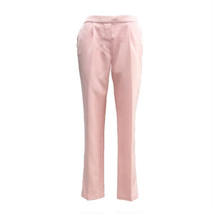 Tapered Stretch Pants (Pink)