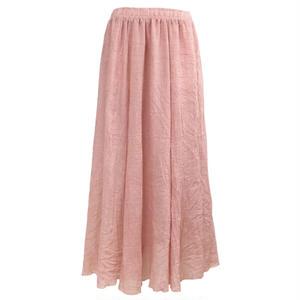 Slab Long Skirt (Peach)