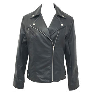 Double Riders Leather Jacket (Black)