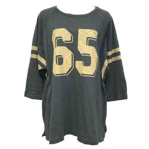Raglan Numbering Long T-shirt